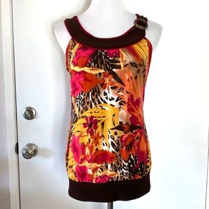Maurices Button Detail Tank Top